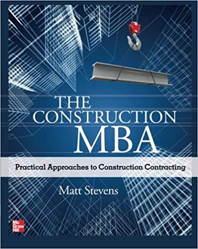 The Construction MBA by Matt Stevens