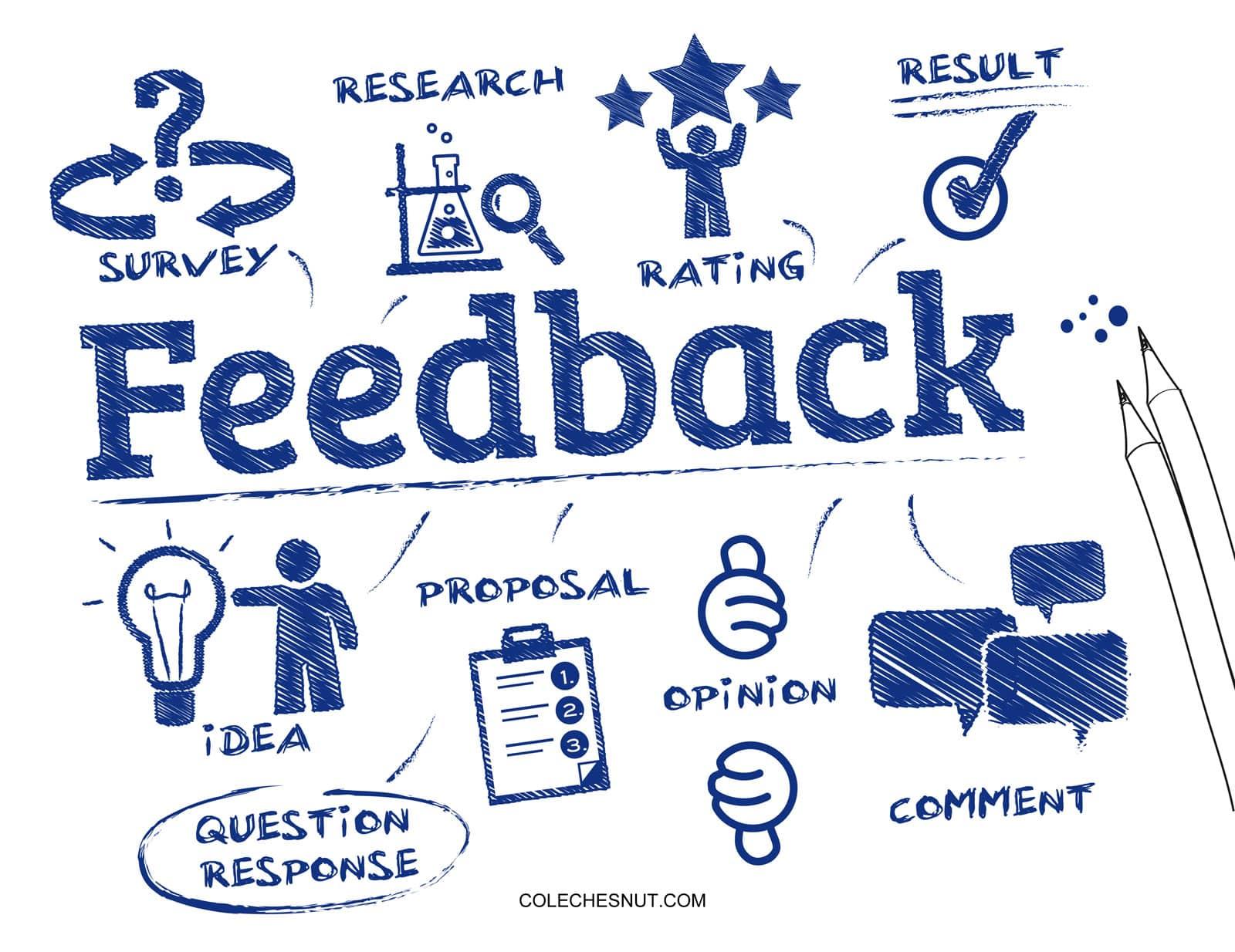 Blueprint for constructive feedback.