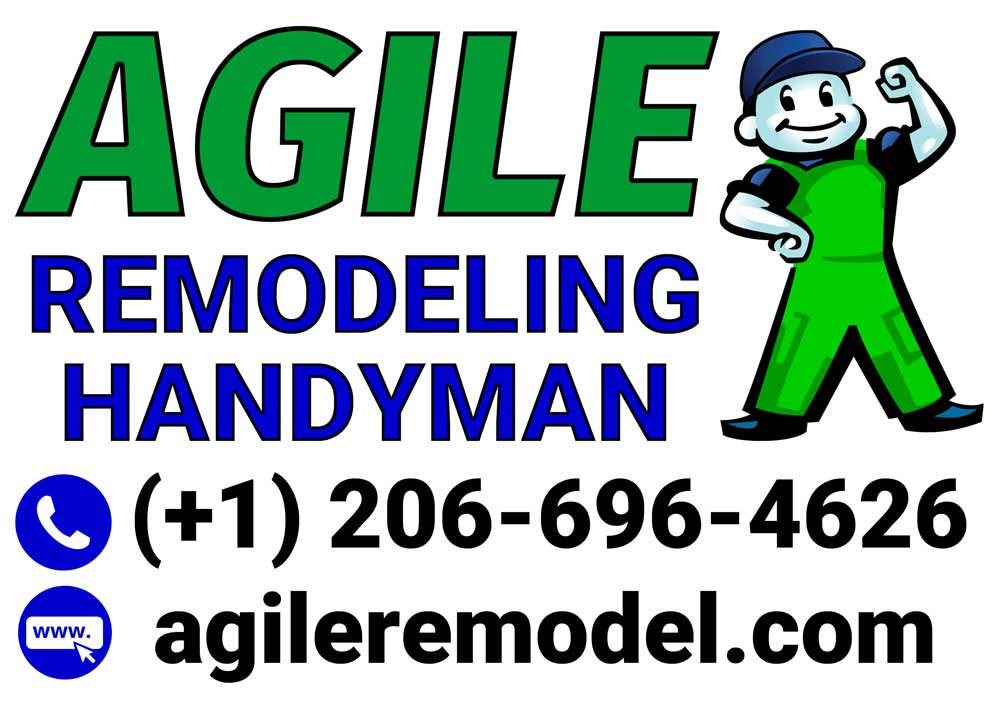 Agile Remodeling Handyman Sign